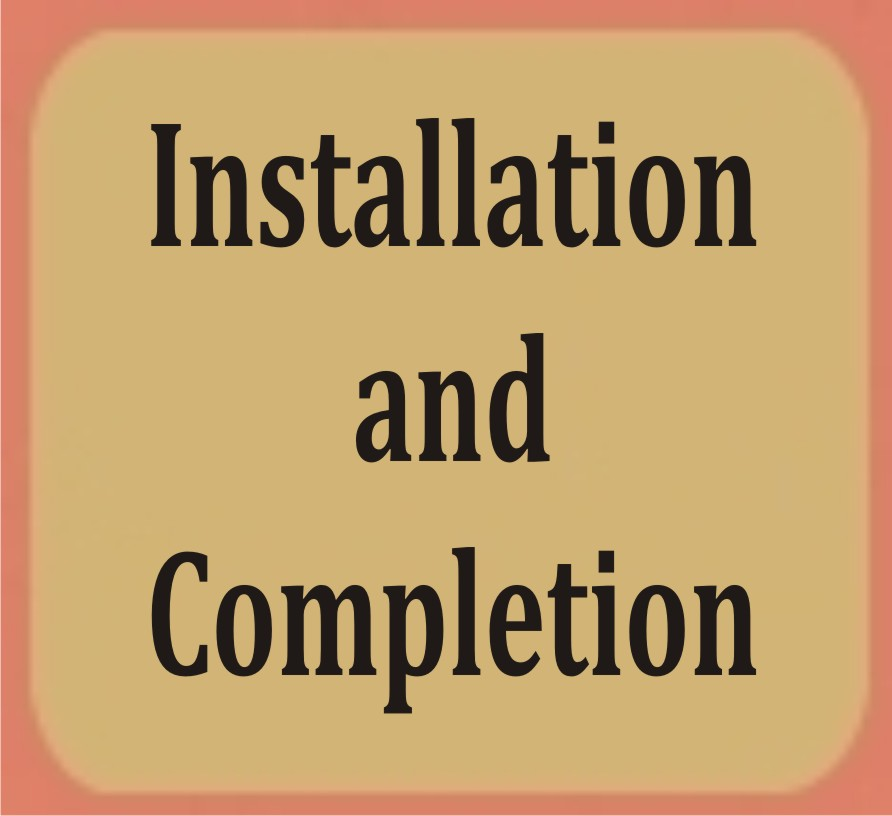 Installation and Completion-Click